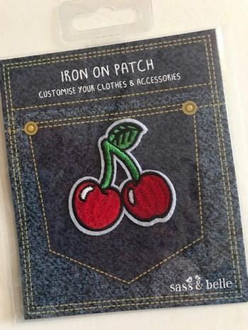♥KIRSCHE♥ Applikation PATCH Stickerei CHERRY