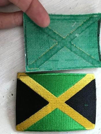 ♥JAMAICA♥ Stickaufnäher AUFNÄHER Flagge PATCH
