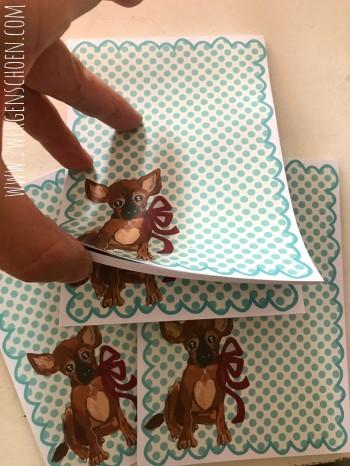 ♥BLESS♥ Notizblock DIN A6 50Blatt Hund PUPPY