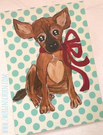 ♥BLESS♥ Postkarten-SET 3 Stück PUPPY Hund