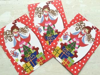 ♥VERSCHENKmich MILLI♥ Postkarten-Set 3 STÜCK