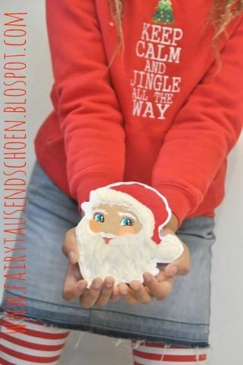 ♥SANTA BABY♥ Stickmuster XMAS Weihnachtsmann
