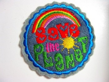 ♥SAVE THE PLANET♥ 1€-SPARbie STICKMOTIV 10x10cm