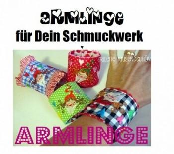 ♥ZWERGENSCHÖNes Schmuckwerk♥ Stickmuster SPEZIAL 13x18cm ITH