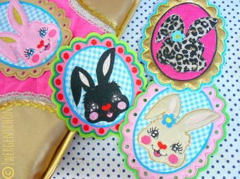 ♥MILLI in LOVE with BUNNY♥ Stickmuster 13x18cm SPEZIAL