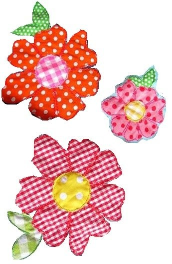 ♥FREUBLueMCHEN♥ happy FLOWER 1€-ECObie Embroidery-FILE