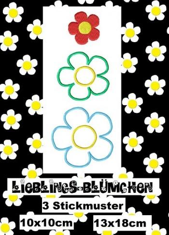 ♥LIEBlingsBLÜMCHEN♥ Stickmuster 1€- SPARbie