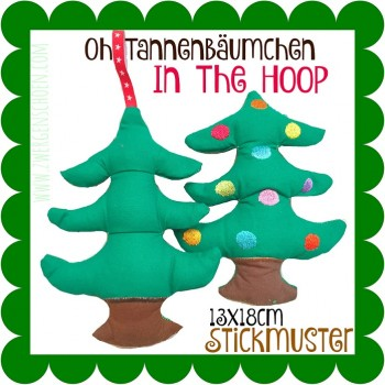 ♥OH HOLY XMAS TREE♥ Embroidery ITH 13x18cm 1€-SPARbie