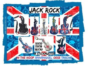 ♥JACK ROCK Spezial♥ Stickmuster ITH 10x10 13x18 18x30