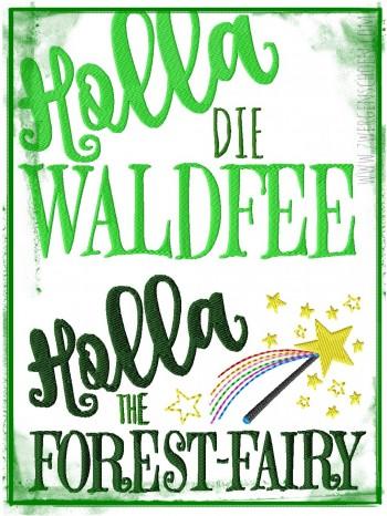 ♥HOLLA die WALDFEE♥ 1€-SPARbie STICKMUSTER 13x18 20x30cm