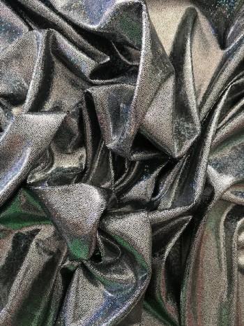 ♥FOIL SCALES♥ 0.5m GLITZER Elastikstoff