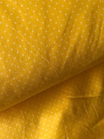 ♥SMALL DOTS♥ 0.5m JERSEY yellow