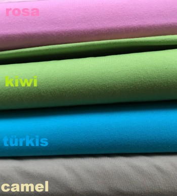 ♥UNI JERSEY♥ CHOOSE YOUR COLOUR Price per 0,5METER
