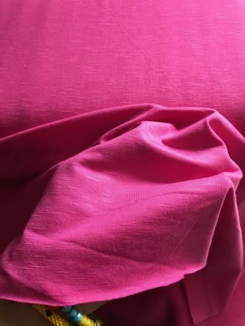 ♥SLUB♥ 0.5m VISKOSE JERSEY pink SPORTY fuchsia