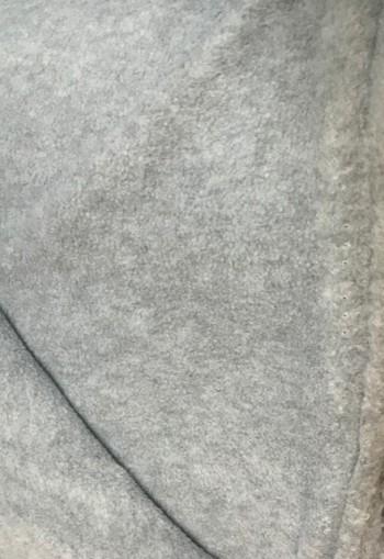 ♥POLAR FLEECE de LUXE♥ 0.5m FLEECE grau MELANGE