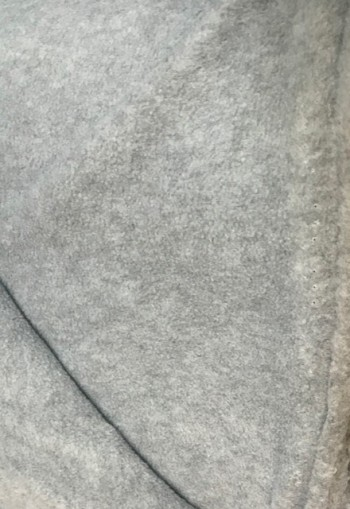 ♥POLAR FLEECE de LUXE♥ 0.5m FLEECE grey MELANGE