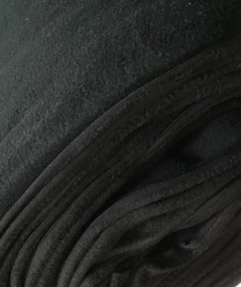 ♥FLEECE♥ 0.5m LAMBSKIN black