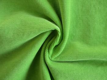 ♥FEINCORD♥ 0.6m CORD froschPRINZ grün BAUMWOLLE