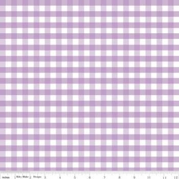 ♥GINGHAM♥ 0.5m BAUMWOLLE R.Blake KARIERT lavendel VICHY