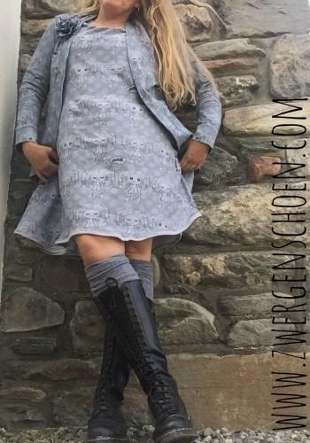 ♥YOYO YOGASCHÖN♥ 0.5m SWEATSHIRT grey/black KRITZEL