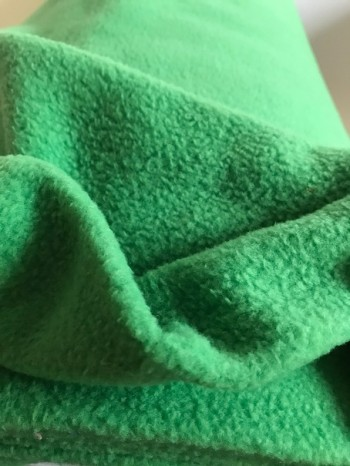 ♥FLEECE♥ 0.5m GREEN fairyGREEN grassGREEN