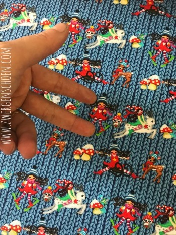 ♥MILLI`s STRICKWUNDER♥ 0.5m JERSEY Digitaldruck