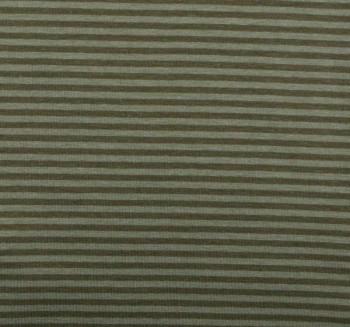 ♥small STRIPES♥ Jersey KHAKI Price per 0,5METER!!!