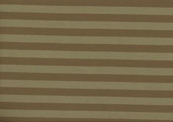♥STRIPES♥ 0.5m Jersey OLIVE/brown