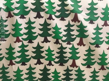 ♥TREES♥ 0.5m COVERING woven COTTON