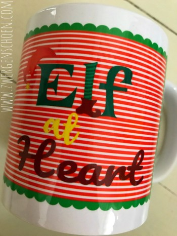 ♥ELF at HEART♥ Tasse MUG 0.3