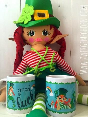 ♥GOOD LUCK♥ Tasse LEPRECHAUN Irland 0.3L