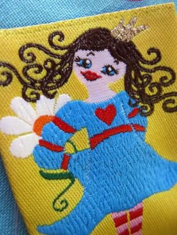 ♥PRINCESS 7BEAUTY♥ fairy-tale LOVE woven LABEL