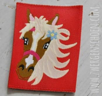 ♥WEBETIKETT♥ Pferd PONY rot