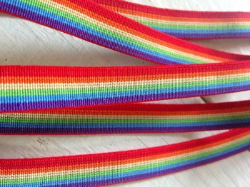 ♥GUMMIBAND♥ Regenbogen RAINBOW