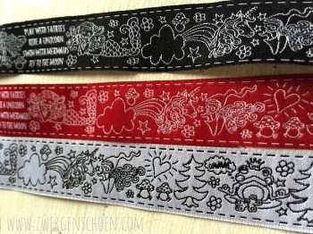 ♥SKETCHY FAIRY TALE♥ Ribbon WHITE price per METER