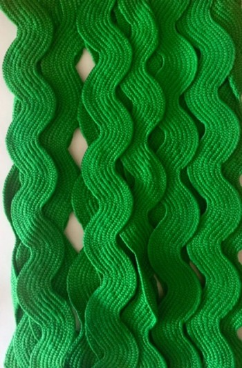 ♥RIC RAC♥ribbon XXXL cotton GREEN