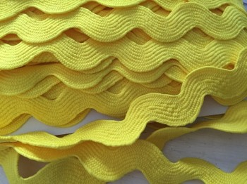 ♥RIC RAC RIBBON♥ XXL price per METER YELLOW