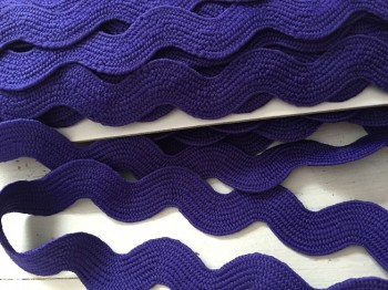♥RIC RAC RIBBON♥ XXXL purple PRICE PER METER