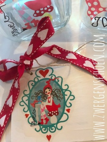 ♥MILLI in LOVE with SEWING♥ Aufkleber AUGENSTERN transparent ORNAMENT 8x7cm