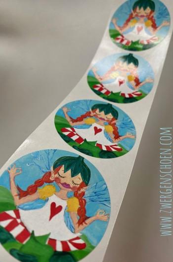 ♥BIRCH FAIRY♥ Sticker 5cm 20pieces