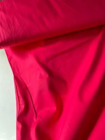 ♥UNI-BAUMWOLLE♥ 0.5m FUCHSIA dark PINK Webware POPELINE