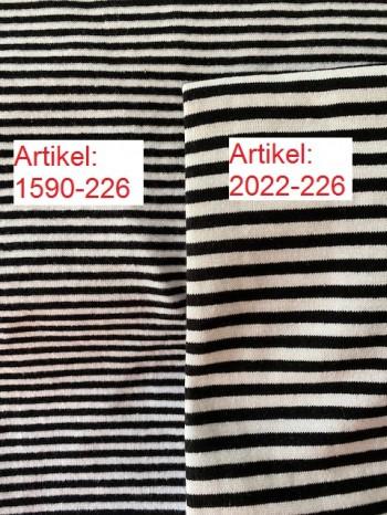 ♥RINGEL-BÜNDCHEN♥ 0.25m SCHWARZ&WEISS Schlauchware RINGEL