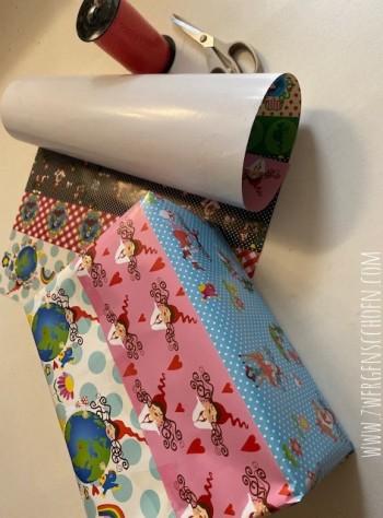♥MLLI ZWERGENSCHÖN♥ Geschenkpapier DEKO Papier 50x70cm