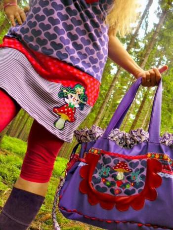 ♥TINKA TROLLA♥ Embroidery-FILE-Set FAIRY Troll girl 10x10 13x18