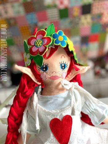 ♥BLUMENSCHÖN♥ Stickdatei BLUMEN Flower Power