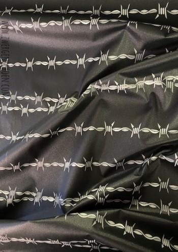 ♥STACHELSCHÖN♥ 0.5m BESCHICHTETE BAUMWOLLE Stacheldraht