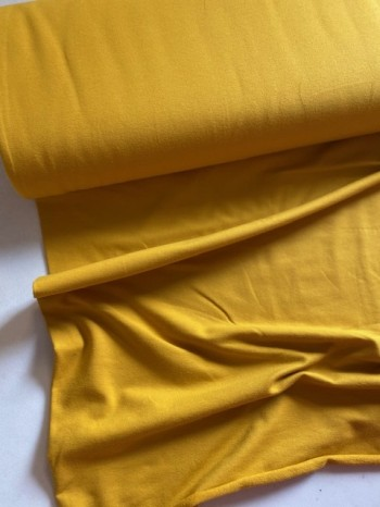 ♥FRENCH TERRY♥ 0.5m COLLEGE SWEATER ocre YELLOW