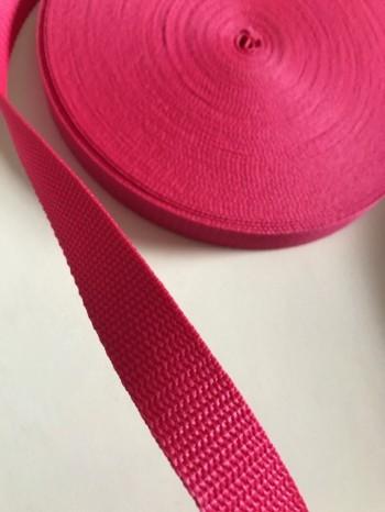♥GURTBAND♥ 2cm BREIT pink METERWARE