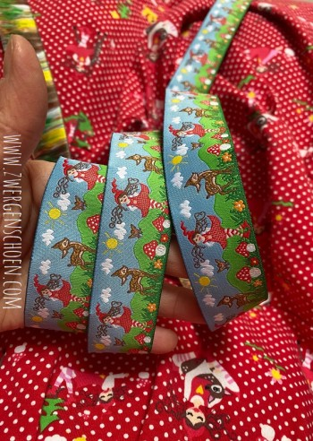 ♥MILLI in LOVE with BAMBI XXL♥ Webband LIEBLINGS-MILLI 30mm