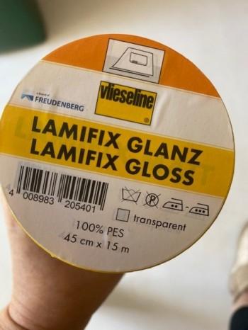 ♥LAMIFIX♥ 0.5m Vlieseline FREUDENBERG gloss GLANZ